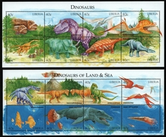 Liberia 1998 - Mi-Nr. 2308-2323 ** - MNH - Prähistorische Tiere - Liberia