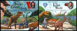 Liberia 2001 - Mi-Nr. 4437-4448 ** - MNH - Prähistorische Tiere - Liberia