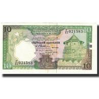Billet, Sri Lanka, 10 Rupees, 1989, 1989-02-21, KM:96R, NEUF - Sri Lanka