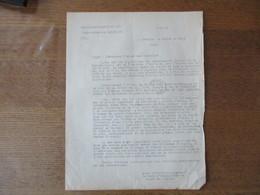 OBERFELDKOMMANDANTUR 670 LE 4.12.41 LE CHEF D'ADMINISTRATION Dr. MULLER COURRIER AU PREFET DU NORD DETENTION D'ARMES PRO - Historische Dokumente