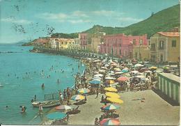 Ischia (Napoli) Casamicciola, Panorama E Spiaggia, Panoramic View And The Beach, Vue Et La Plage - Napoli (Naples)