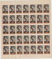 BRU 14 :  35  Genre  Bloc  Vignette  Timbre :  Verdun , Meuse  , 1916 , Soldat  , Guerre  1914-18 - Non Classés