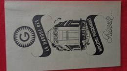 Petite Affichette Publicitaire Gaumont (la Marque Des Meilleurs Programmes): Le Dictateur - Affiches
