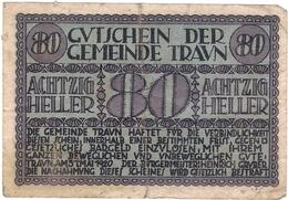 Österreich Austria Notgeld 80 HELLER FS1080 TRAUN /143M/ - Austria