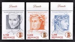 MONACO 2009  - SERIE - Y.T. 2691 A 2693 - 3 TP NEUFS ** - Monaco