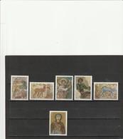 TIMBRES POSTE DE YOUGOSLAVIE . MOSAIQUES . SERIE COMPLETE . - Unused Stamps