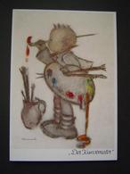 CARTE POSTALE Ancienne Enfant : DER KUNSTMALER / HUMMEL / JOSEF MULLER - MUNCHEN N° 5671 / GERMANY - Allemagne
