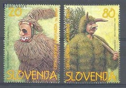 Slovenia 1997 Mi 173-174 MNH ( ZE2 SLN173-174 ) - Culturen