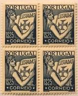 """POR#4884-Block Of 4 MNH Stamps Of 1.25 Escudos - """"Lusíadas"""" - Portugal - 1931 - Blocchi & Foglietti"""