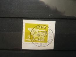 FRANCOBOLLI STAMPS IRLANDA EIRE 1968 - 1978 USED SU FRAMMENTO ARTE ARTS ANNULLO BAILE ATHA CLIATH OBLITERE' FRAGMENT - Usati