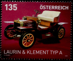 Austria 2020, Laurin & Klement Typ A MNH / POSTFRISCH / ** - 2011-... Nuovi & Linguelle