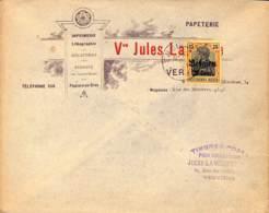 Verviers, Papeterie Jules Lambotte - [OC1/25] Gouv. Gén.