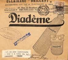 Brussel, Drukwerkbandje Volledig, Diadème - [OC1/25] Gen.reg.
