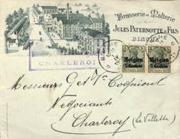 Charleroi, Brasserie Paternotte - [OC1/25] Gouv. Gén.
