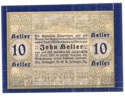 Österreich Austria Notgeld 10 HELLER FS1247a WIPPENHAM /143M/ - Austria
