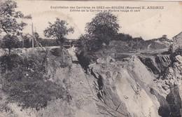 [53] Mayenne > Grey En Bouere Exploitation Des Carrières E ANDREI Entrée De La Carrière De Marbre Rouge Et Vert - Otros Municipios