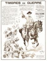 """PUB """" TIMBRES De GUERRE  14/18  """"   1916 ( 1 ) - Guerres"""