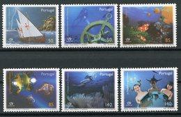 PORTUGAL (1998) - EXPO 98 - Océanos / Oceans, Marine Life, Discoveries, Ship, Vida Marina, Algas, Scientific Submarine - 1910-... Republic