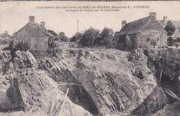[53] Mayenne > Grey En Bouere Exploitation Des Carrières E ANDREI Sciage A La Masse Par Fil Helicoïdal - Otros Municipios