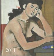 YANNIS MORALIS – 2011 CALENDAR BOOK – GREEK NATIONAL GALLERY - SOUTSOS MUSEUM - Libros, Revistas, Cómics