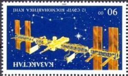 KAZ 1993-27 SPACE, KAZAKISTAN, 1 X 1v, MNH - Kasachstan