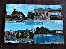 (FG.L42) VITERBO - VEDUTE VEDUTINE (FONTANA DEL VIGNOLA, PALAZZO PAPALE, TERME E PISCINA, PANORAMA) - Viterbo