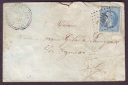 GERS - LSC - Tàd T22 CASTERA VERDUZAN + GC 765 Sur N° 29 Pour Vic Fezensac (31) - 1849-1876: Période Classique