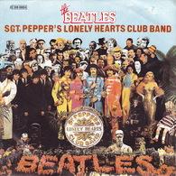 THE BEATLES - SP - 45T - Disque Vinyle - Sgt.pepper's - N° 06804 - Vinyl-Schallplatten
