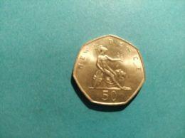 GRAN BRETAGNA 50 Pence 1989 - 1971-… : Monete Decimali