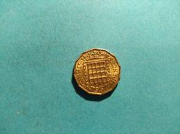 GRAN BRETAGNA 3 PENCE 1967 - 1902-1971 : Monete Post-Vittoriane