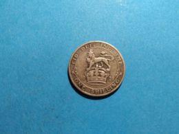 GRAN BRETAGNA1 SHILLING 1921 - 1902-1971 : Monete Post-Vittoriane