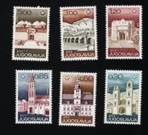 1967 Juli  Tourism Mi YU 1222 - 27 Sn YU 876 - 81 Yt YU 1116 - 21 Sg YU 1288 - 93 Postfr. Xx MNH - 1945-1992 République Fédérative Populaire De Yougoslavie