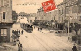 D46  SAINT CÉRÉ  Boulevard Gambetta  ........... Avec Le Tramway - Saint-Céré