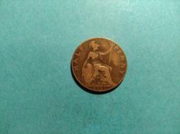 GRAN BRETAGNA 1/2 PENNY 1917 - 1902-1971 : Monete Post-Vittoriane
