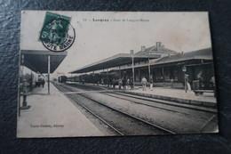 CPA Animée - LANGRES (52) - Gare De Langres-Marne - 1909 - Langres