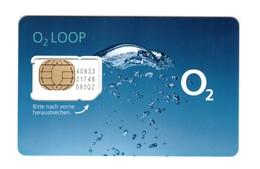 GERMANY Unused SIM Chip GSM Phone Card O2LOOP - Deutschland