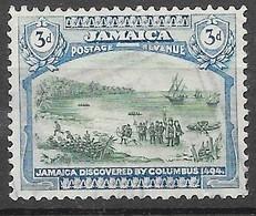 Filigramme 1920 - 21 : N°86 Chez YT. (Voir Commentaire) - Jamaica (...-1961)