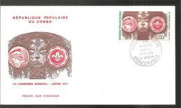 FDC 1971 13 JAMBOREE MONDIAL - FDC