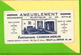 Buvard & Blotting Paper  :  Ameublement CAMBIER MERLIN BRUAY En ARTOIS - Produits Ménagers