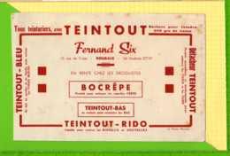 Buvard & Blotting Paper  :  TEINTOUT Bocrepe    ROUBAIX - Textile & Vestimentaire