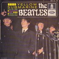 THE BEATLES - EP - 45T - Disque Vinyle - Yellow Submarine - N° 126 - Vinyl-Schallplatten