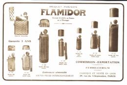 """PUB BRIQUETS    """" FLAMIDOR  """"    1916  ( 8 ) - Andere"""