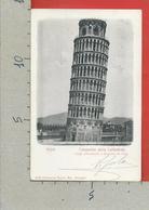 CARTOLINA VG ITALIA - PISA - Campanile Della Cattedrale - 9 X 14 - 1902 - Pisa