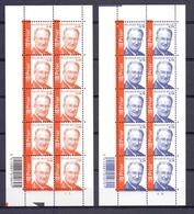 3208/09VEL Koning Albert II Velletjes Postfris** 2003 - Belgique
