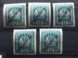 Österreich 1918, Partie Mi 232 MNH Postfrisch - 1918-1945 1st Republic
