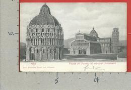 CARTOLINA VG ITALIA - PISA - Piazza Del Duomo Coi Principali Monumenti - 9 X 14 - 1902 LURAGO D'ERBA - Pisa
