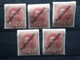 Österreich 1918, Partie Mi 233 MNH Postfrisch - 1918-1945 1st Republic