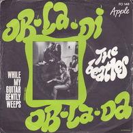 THE BEATLES - SP - 45T - Disque Vinyle - Ob La Di - N° 148 - Vinyl-Schallplatten