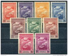 Angola 1938. Michel #284/92 MNH. Aviation. Aircraft. 2 (B03) - Angola