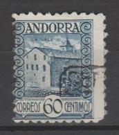 ANDORRA C. ESPAÑOL Nº 40 PERFORACIÓN MUY DESPLAZADA  (S.1) - Andorra Española